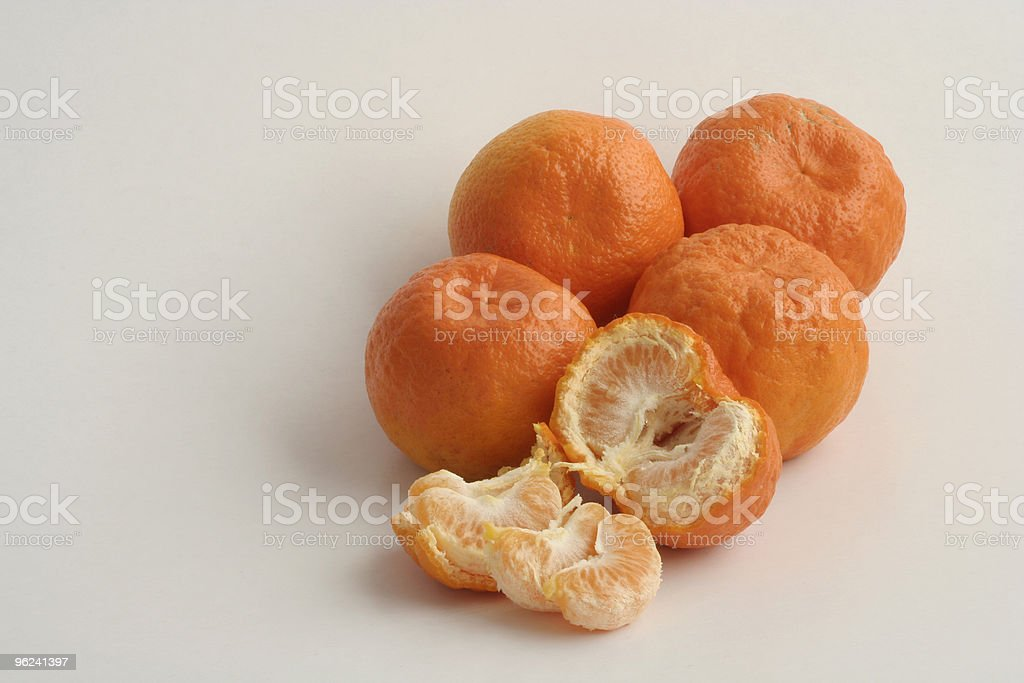 Selection of Tangarines stock photo