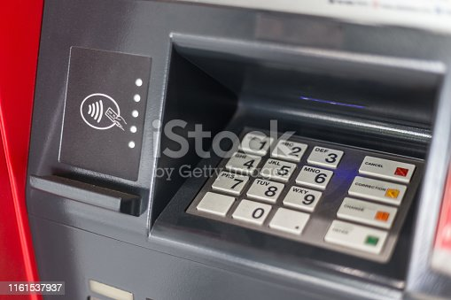 Selective focus of Keyboard on the ATM