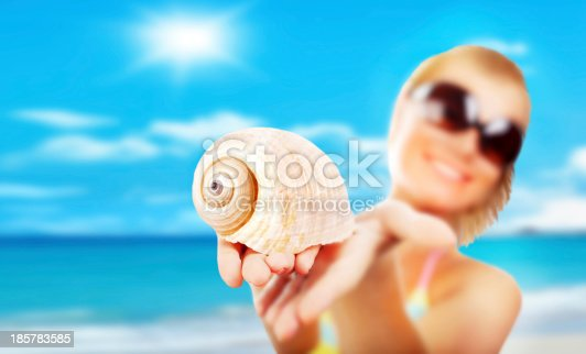 istock Selective focus on the shell 185783585