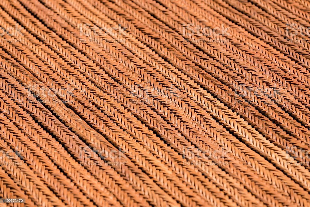 selective focus shot of leather bands stock photo