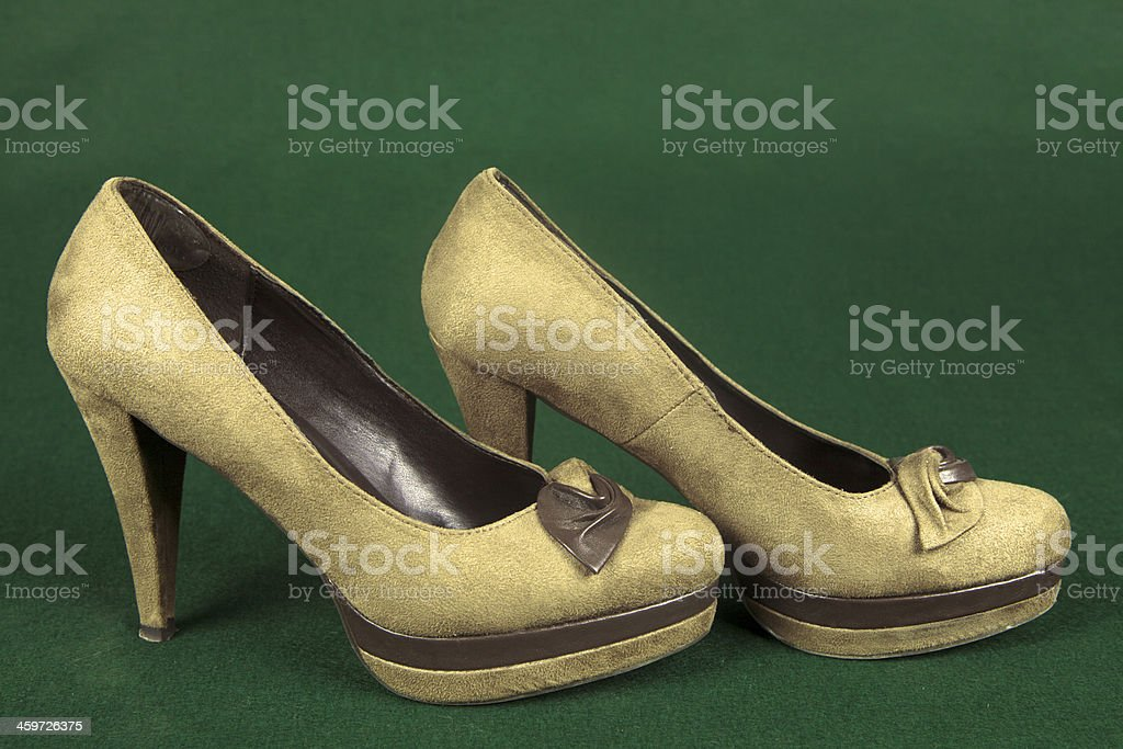 Seledin suede high heel
