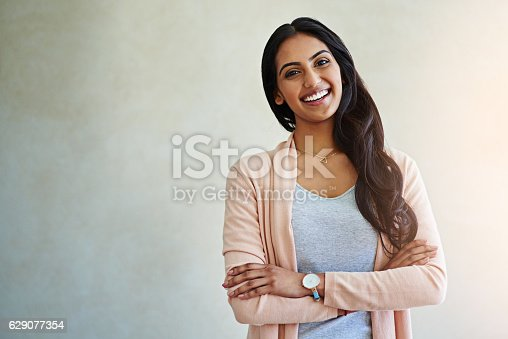 istock Self acceptance goes a long way to being happy 629077354
