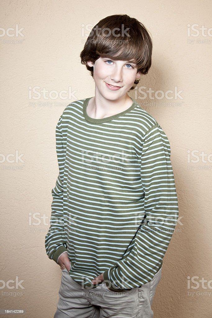 Self confidence boy royalty-free stock photo
