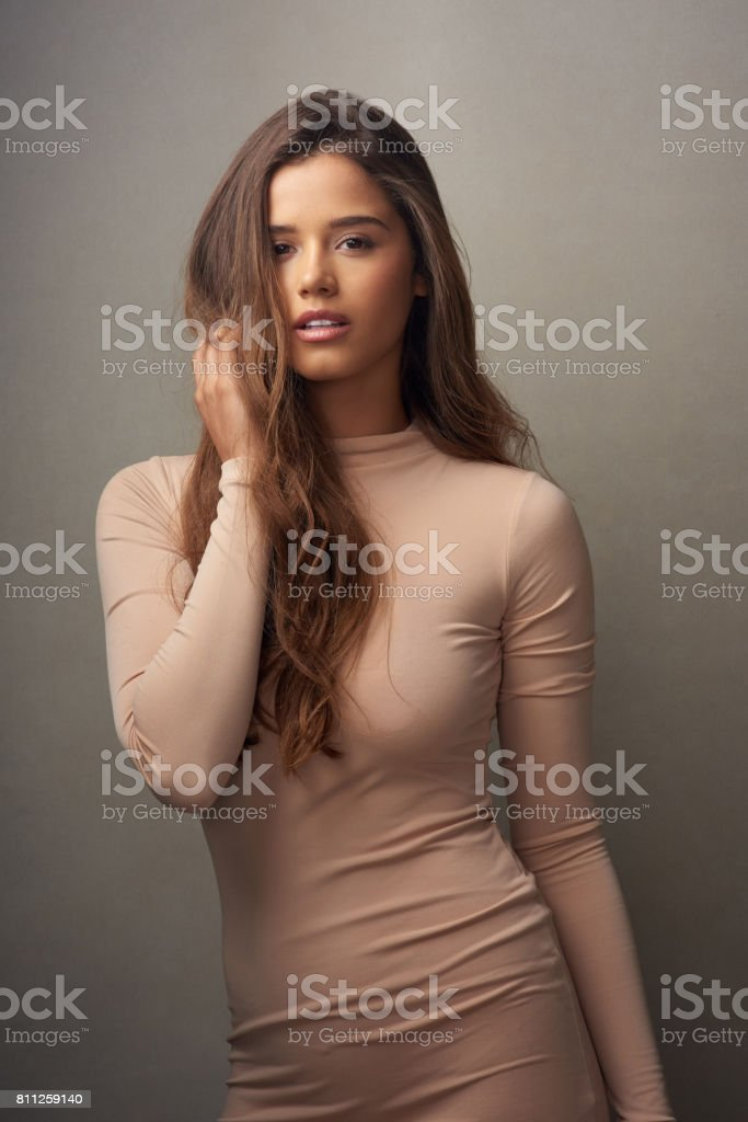 Self confidence is a super power stock photo