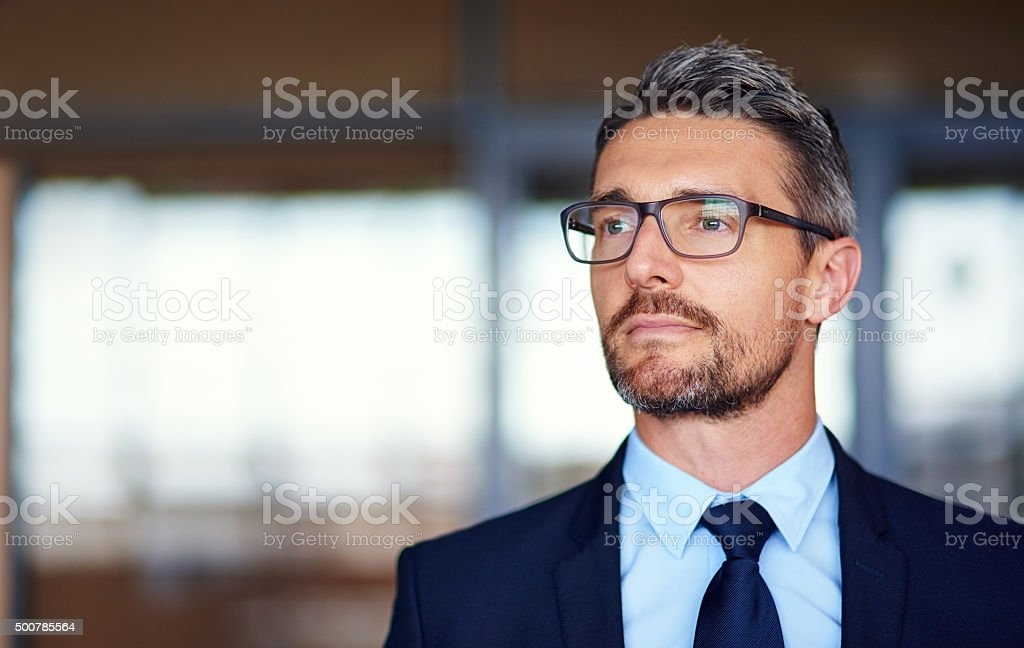 Self confidence is essential for success stock photo