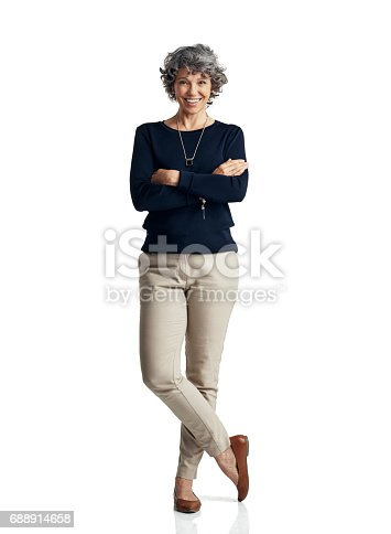 istock Self confidence is the pillar of a strong personal presence 688914658