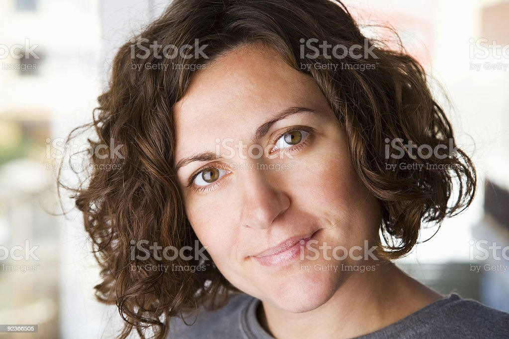 Self confidence stock photo