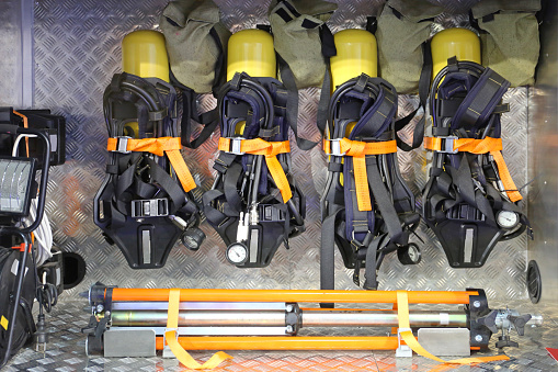 Self Contained Breathing Apparatus Stock Photo - Download Image Now
