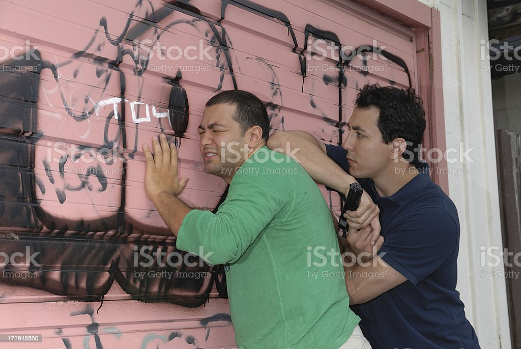 Self  defence royalty-free stock photo