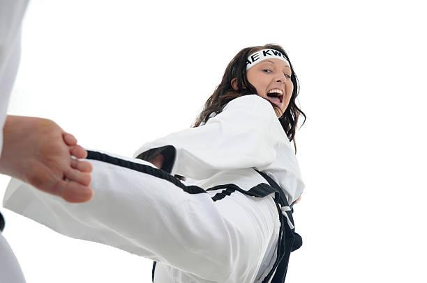 Self defense spirit stock photo
