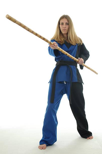 Self defense stick stock photo