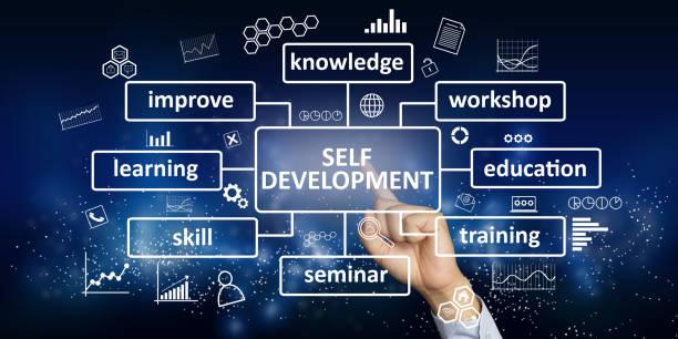 자기 개발, 동기 부여 단어 인용 개념 - 개발 뉴스 사진 이미지
