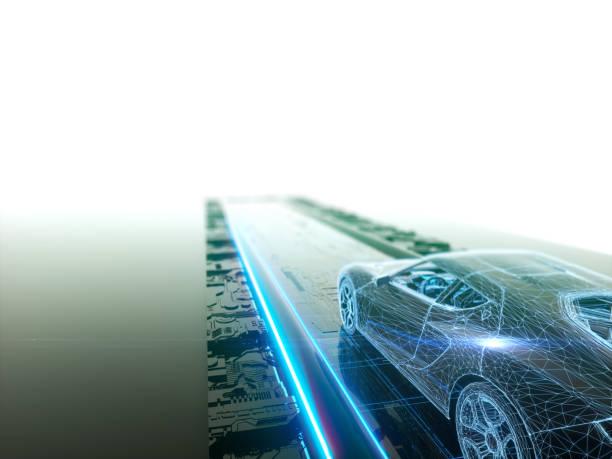 Selbstfahrer, autonomes Fahrzeug – Foto