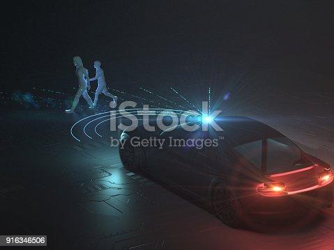 936364312istockphoto Self drive, autonomous vehicle 916346506
