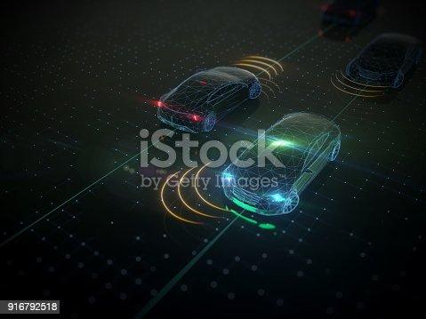 936364312istockphoto Self drive, autonomous vehicle 916792518
