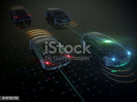 936364312istockphoto Self drive, autonomous vehicle 916792732