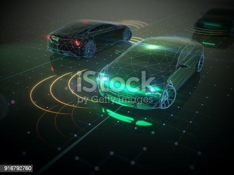936364312istockphoto Self drive, autonomous vehicle 916792760