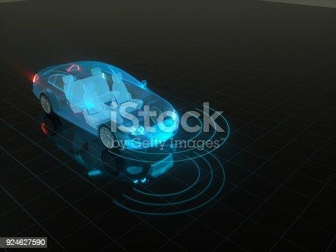 936364312istockphoto Self drive, autonomous vehicle 924627590