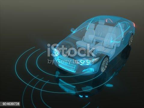 936364312istockphoto Self drive, autonomous vehicle 924639728