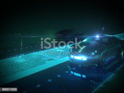 936364312istockphoto Self drive, autonomous vehicle 930374530