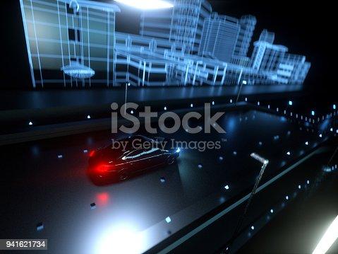 936364312istockphoto Self drive, autonomous vehicle 941621734