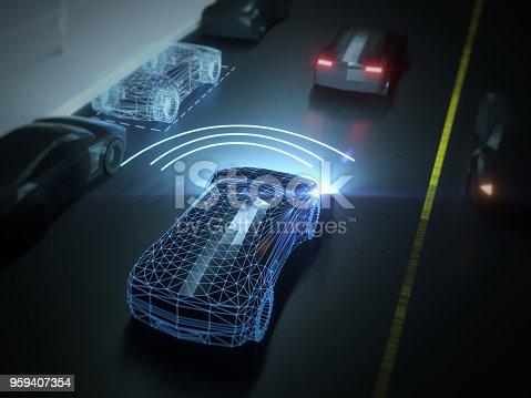 936364312istockphoto Self drive, autonomous vehicle 959407354
