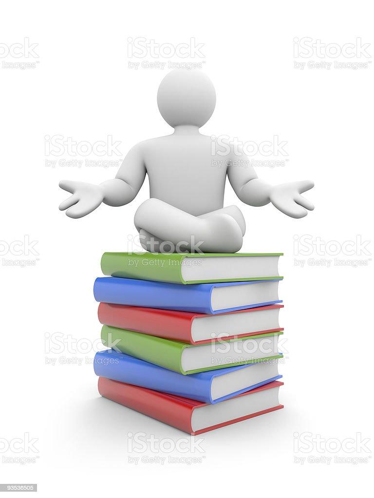 Self education royalty-free stock photo
