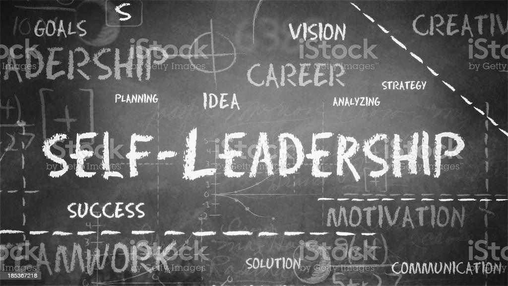 Self Leadership Background (Loopable) stock photo