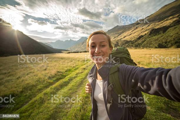 Self portrait of female hiking in the valley at sunrise picture id540384826?b=1&k=6&m=540384826&s=612x612&h=vlpbkvgltpkcwqj3a7xjtbznccbsrf4nwkblp9 ljf8=