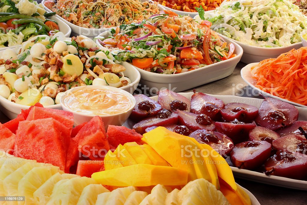 Self service restaurant food royalty-free stock photo