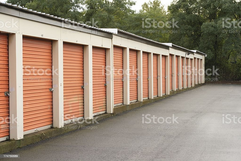 Self Storage Center stock photo