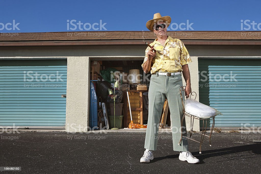 Self Storage lifestyle stock photo