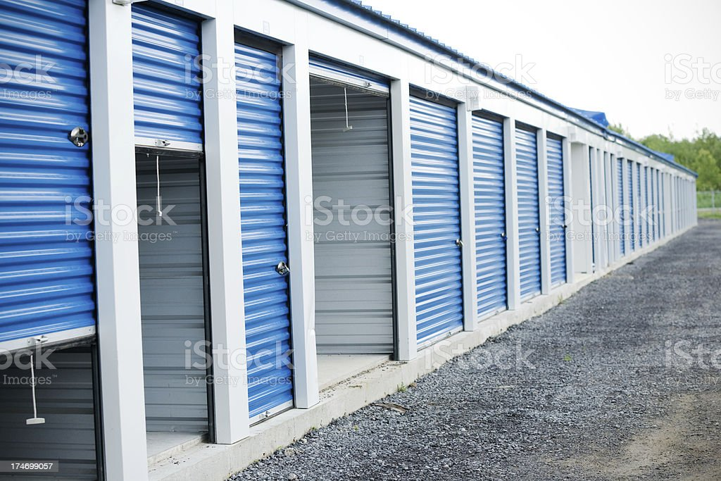 Self Storage Unit royalty-free stock photo