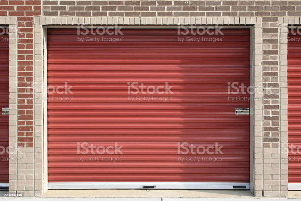 Self Storage Unit stock photo