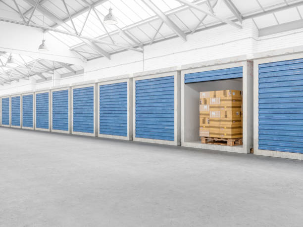 Self Storage Warehouse stock photo