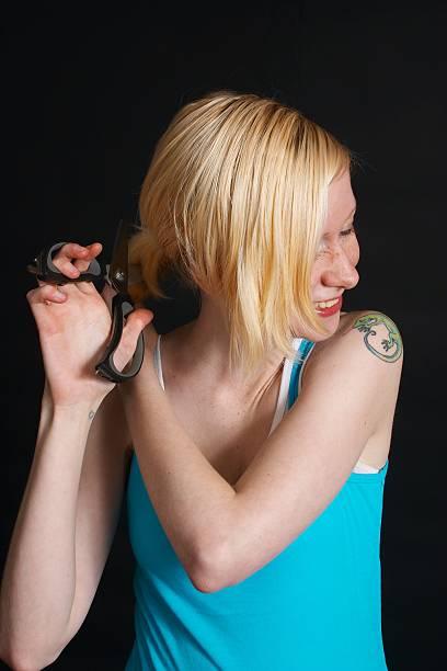 self styling stock photo