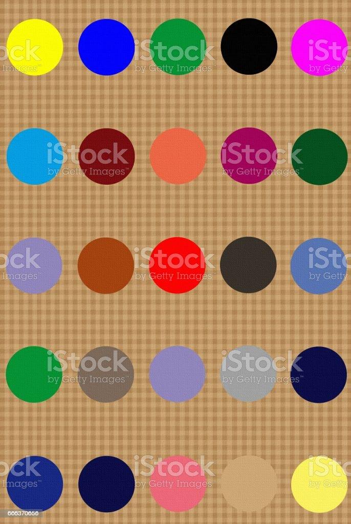 Pastilles en papier véniel - Pastilles multicolores - Photo
