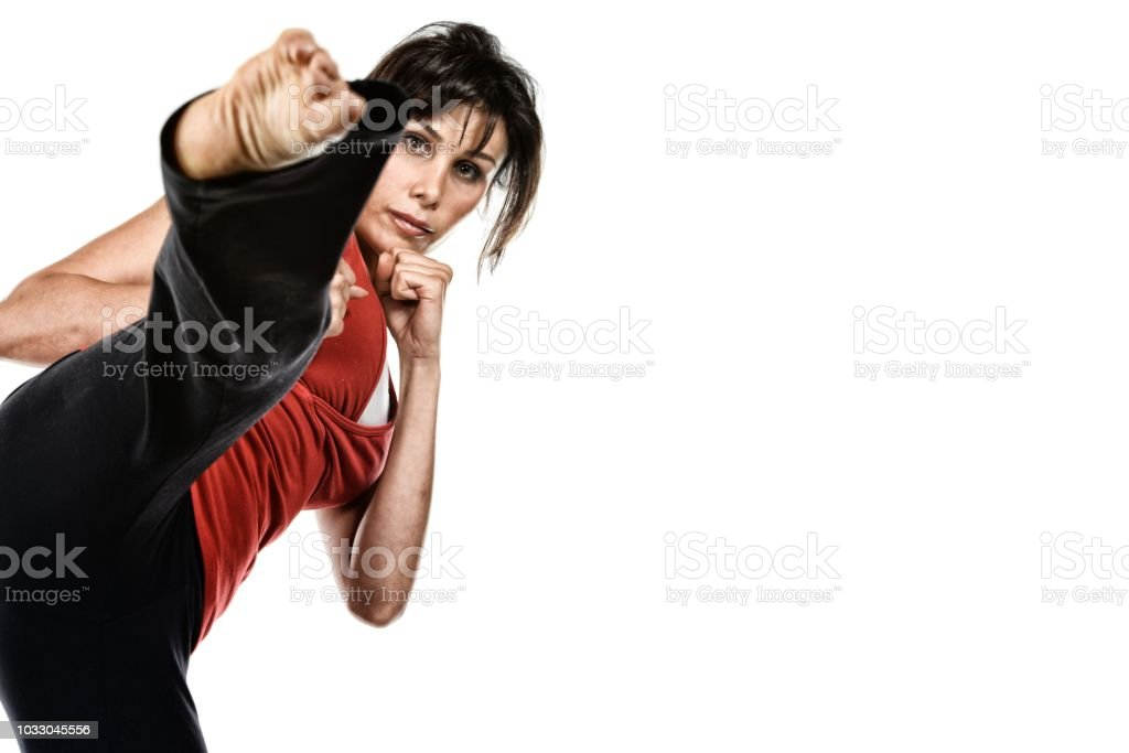 Self-Defense Fitness stock photo