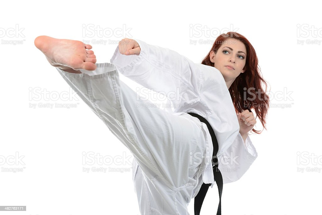 Self-Defense Training stock photo