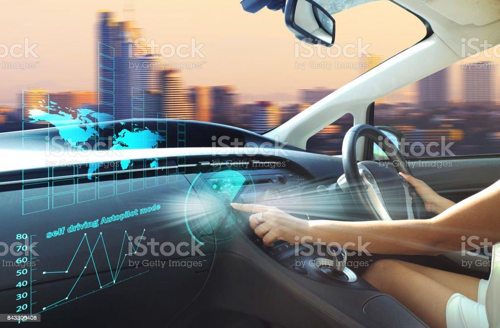 selbstfahrende Autopilot-Modus – Foto