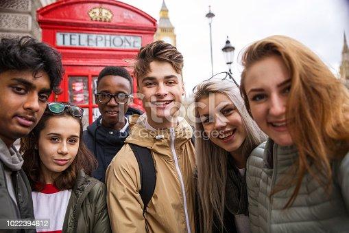 861023492istockphoto Selfie at the London Big Ben 1022394612