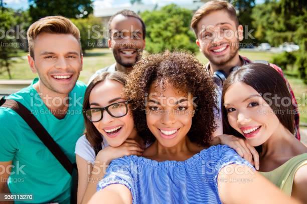 Selfie mania six international students with beaming smiles are for picture id936113270?b=1&k=6&m=936113270&s=612x612&h=az9dkrdnlv1ok0kbfl g1slim6vbuzutajwdrcgjkvw=