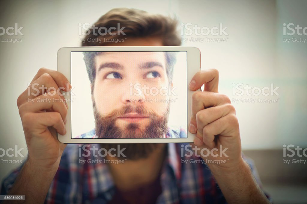 Selfie time. royalty-free stock photo