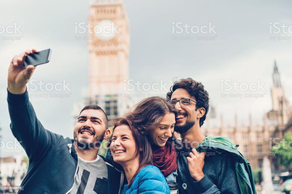 Selfie mit Big Ben – Foto