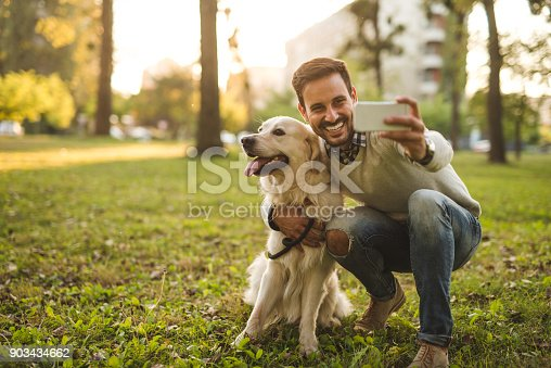 istock Selfie with my boy 903434662