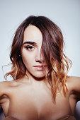 istock Self-portrait of a beautiful girl 513635160