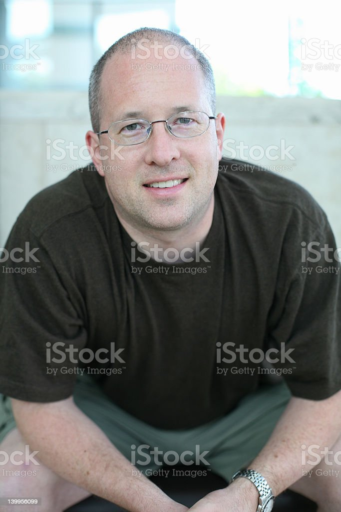 Self-Portrait stock photo