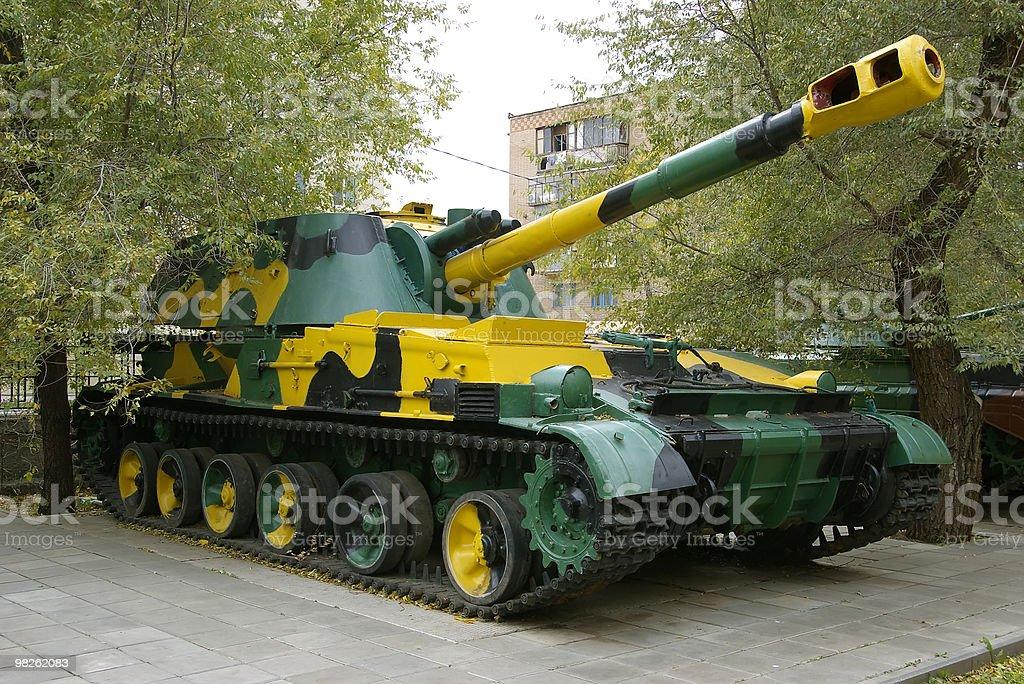 Self-propelled artillery gun ACS 'Acacia'. stock photo