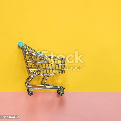 istock Self-service supermarket 887347412
