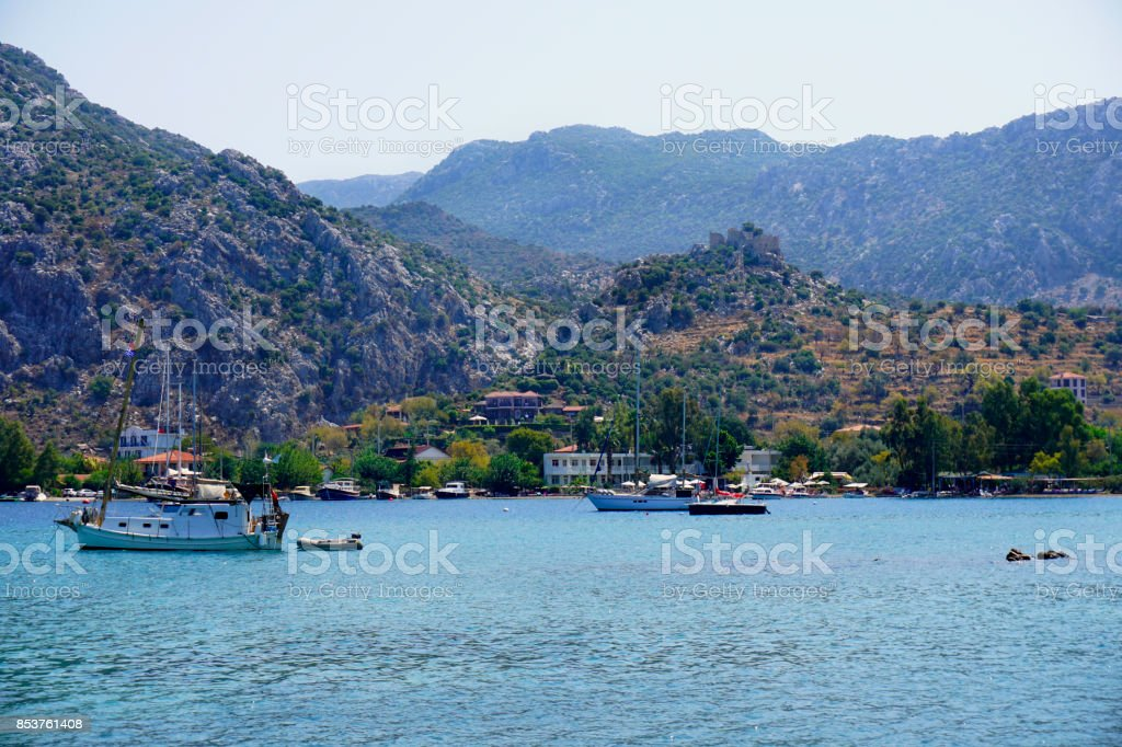 Selimiye, Marmaris stok fotoğrafı